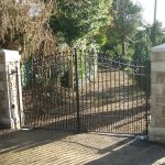 Residential Metial Gates in Devon