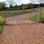 Farmland security gates in Devon