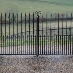 Residential metal fencing - Crediton