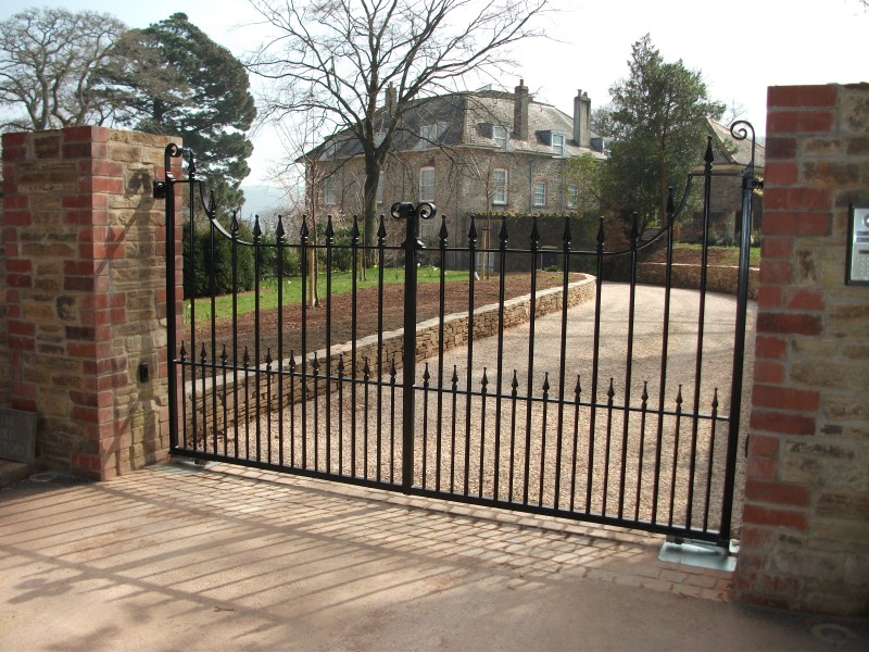 Bespoke fabricated gates in Exeter