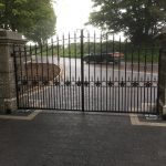 Metal custom fabricated gates