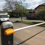 Security barriers in Devon